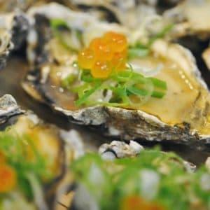 中秋烤肉食材-日式岩烤大牡蠣